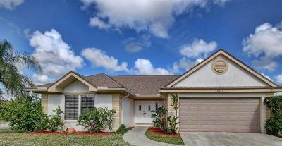 Boynton Beach Single Family Home For Sale: 6261 Luana Court