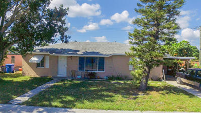 Lantana Single Family Home For Sale: 523 S 13th Court