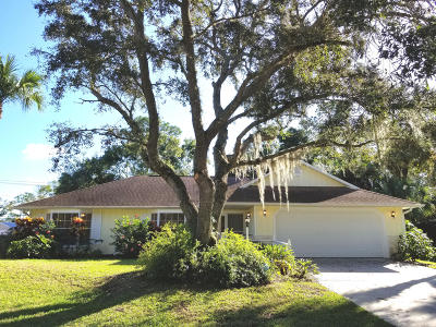 Fort Pierce Single Family Home For Sale: 8307 North Boulevard