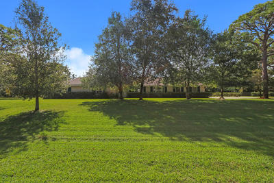 Jupiter Single Family Home For Sale: 6750 Imperial Woods Road