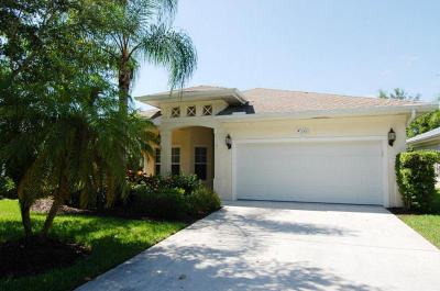 Stuart Single Family Home For Sale: 2060 NW 21st Terrace