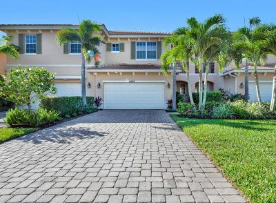 Palm Beach Gardens Townhouse For Sale: 4859 Cadiz Circle