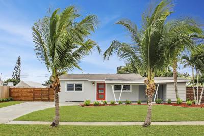 Palm Beach Gardens FL Single Family Home For Sale: $285,000
