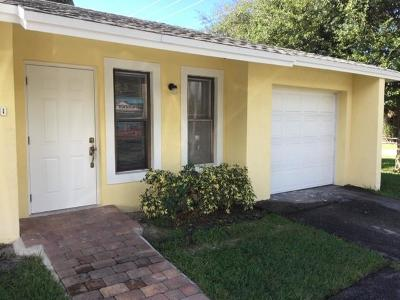 North Palm Beach Multi Family Home Contingent: 12050 Ellison Wilson Road
