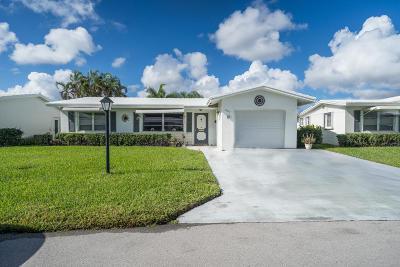 Boynton Beach Single Family Home For Sale: 1003 SW 15 Street