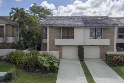 Boca Raton Townhouse For Sale: 6022 Glendale Drive