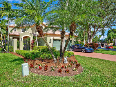 West Palm Beach Single Family Home For Sale: 10345 Osprey Trace