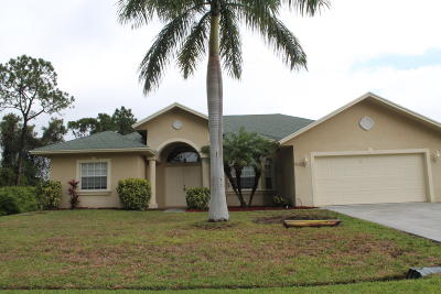 Port Saint Lucie FL Rental For Rent: $1,850