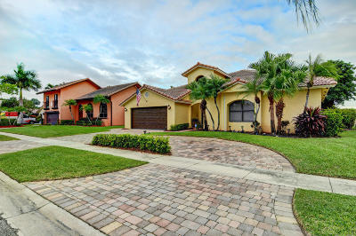 Boca Raton Single Family Home For Sale: 5135 Deerhurst Crescent Circle
