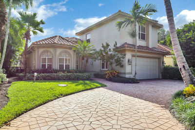 Palm Beach Gardens Single Family Home For Sale: 3394 Degas Dr W