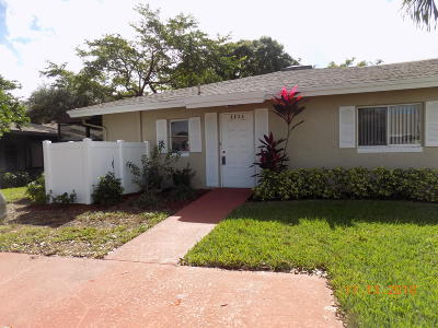 Boca Raton Single Family Home For Sale: 8836 Rheims Road