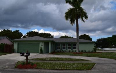 West Palm Beach Single Family Home For Sale: 4978 Marbella Road