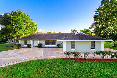 Port Saint Lucie Single Family Home For Sale: 2085 SE Isabell Road