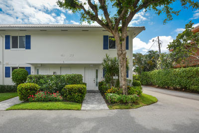 Delray Beach Townhouse For Sale: 130 Andrews Avenue #1