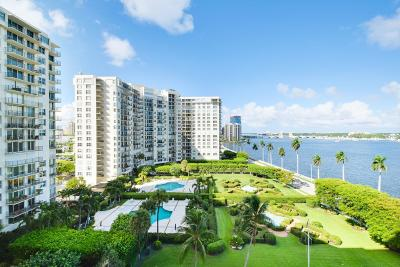 West Palm Beach Condo For Sale: 1801 S Flagler Drive #904