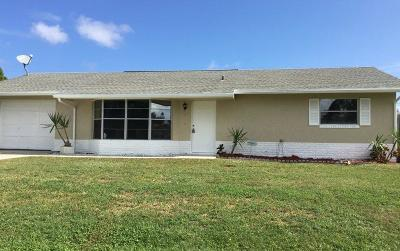 Port Saint Lucie Single Family Home For Sale: 349 NW Dorchester Street