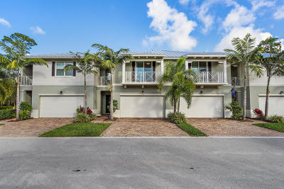 Palm Beach Gardens Townhouse For Sale: 1140 Piccadilly Street