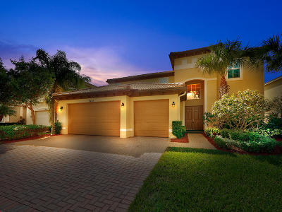 Port Saint Lucie Single Family Home For Sale: 11435 SW Fieldstone Way