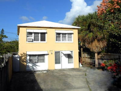 Lake Worth Multi Family Home For Sale: 215 S K Street