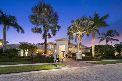 Palm Beach Gardens Single Family Home For Sale: 307 Grand Key Terrace