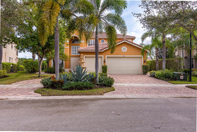 Delray Beach Single Family Home For Sale: 9871 Savona Winds Drive