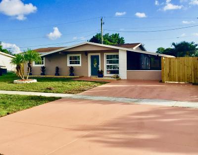 West Palm Beach Single Family Home For Sale: 6080 Fair Green Road
