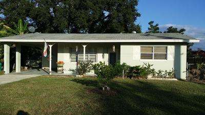 Fort Pierce Single Family Home Contingent: 3350 Oleander Avenue