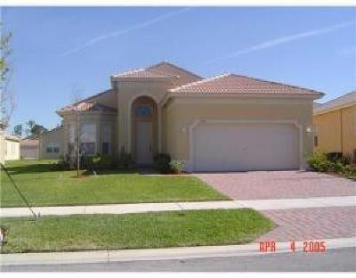 Fort Pierce Single Family Home For Sale: 5846 Sunberry Circle