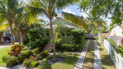 West Palm Beach Single Family Home For Sale: 1701 Florida Avenue