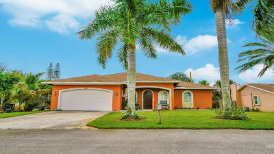 Boynton Beach Single Family Home For Sale: 3540 Genevra Avenue