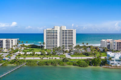 Jupiter Condo For Sale: 19700 Beach Road #6s