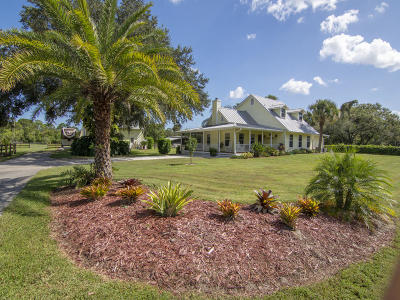 Fort Pierce Single Family Home For Sale: 3524 Eleven Mile Road