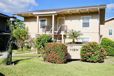 Tequesta Condo For Sale: 9140 SE Riverfront Terrace #Seaview