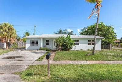 Lantana Single Family Home Contingent: 102 13th Place