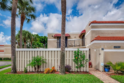 Delray Beach Townhouse For Sale: 4085 Village Drive #C
