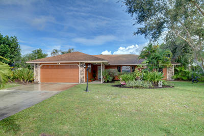 Jensen Beach Single Family Home For Sale: 639 NE Lima Vias