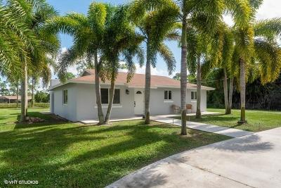 West Palm Beach Single Family Home For Sale: 4810 122nd Drive