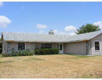 Lake Worth Single Family Home Contingent: 5341 Woods W Drive