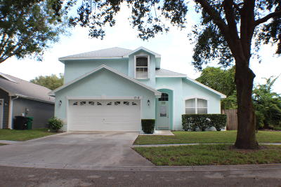 Fort Pierce Single Family Home For Sale: 1712 Primrose Court