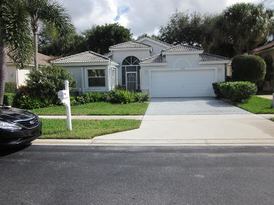 Boynton Beach Single Family Home For Sale: 9750 Arbor View Drive S