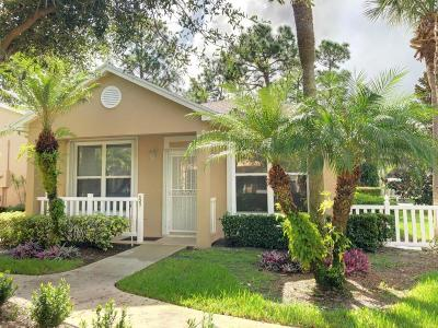 Port Saint Lucie Single Family Home For Sale: 525 NW San Remo Circle