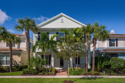 Jupiter Single Family Home For Sale: 140 W Bay Cedar Circle