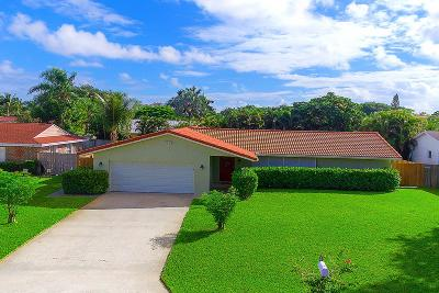 Palm Beach Gardens Single Family Home For Sale: 11606 Ficus Street