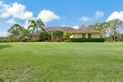 Loxahatchee Single Family Home For Sale: 2379 S Palm Deer Drive