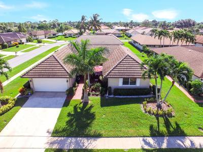 Boynton Beach Single Family Home For Sale: 10316 Greentrail Trail