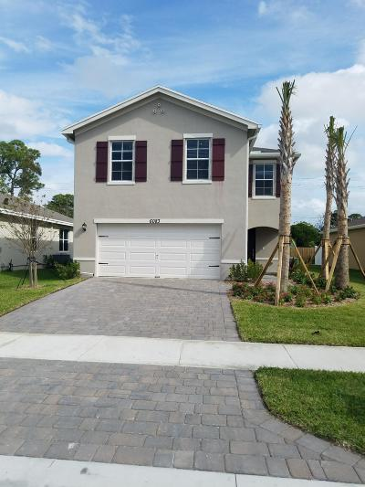 West Palm Beach Single Family Home For Sale: 6089 Wildfire Way