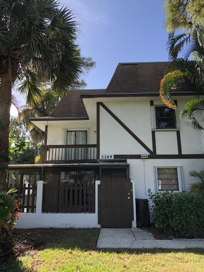 West Palm Beach Rental For Rent: 2269 Lena Lane