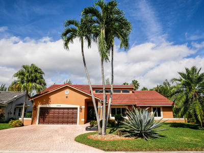 Coral Springs Single Family Home For Sale: 8649 NW 57 Court