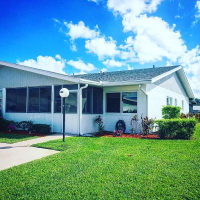 West Palm Beach FL Single Family Home For Sale: $162,000
