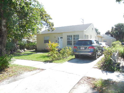 West Palm Beach FL Single Family Home For Sale: $165,000
